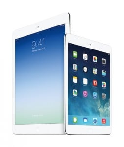 Apple iPad Air Equipped With IGZO Display Technology