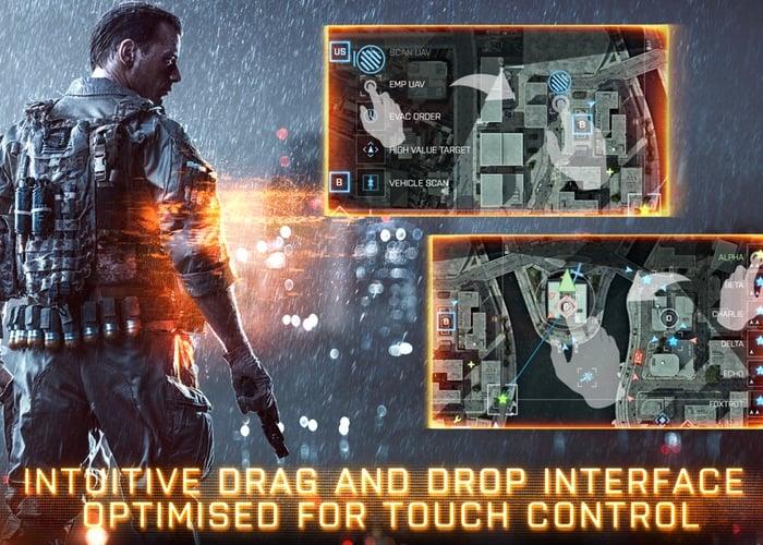 Battlefield 4 Commander App