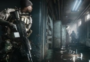 Xbox One Kinect 2.0 Tracks Head Lean In Battlefield 4