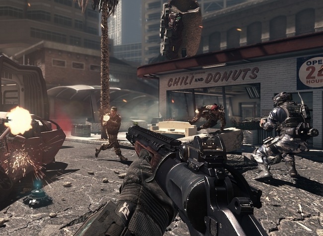Call of Duty resolution Xbox One