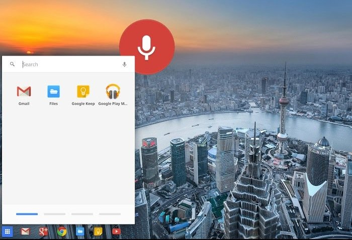 Chromebook Voice Search