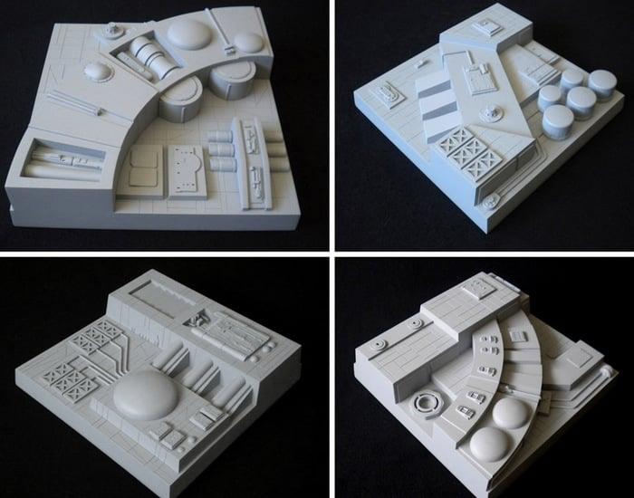 Death Star Wall Tiles