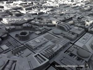 Death Star Wall Tiles (video)