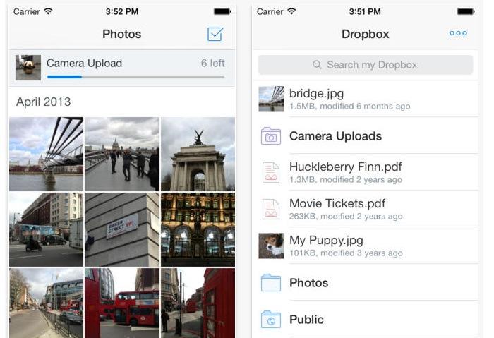 Dropbox iOS Update