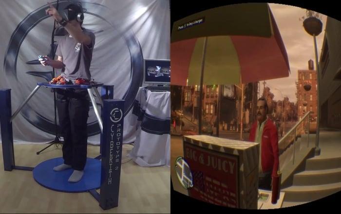GTA virtual reality