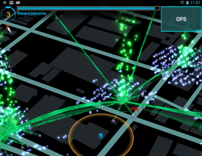 Ingress, The Game of Reality Augmented under The Support of Google