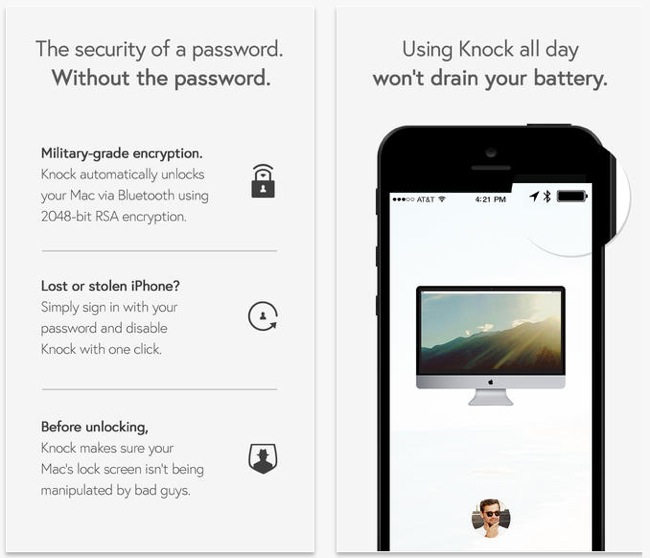 Knock iOS App