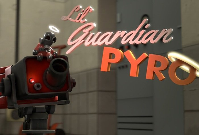Saxxy Award Lil Guardian Pyro
