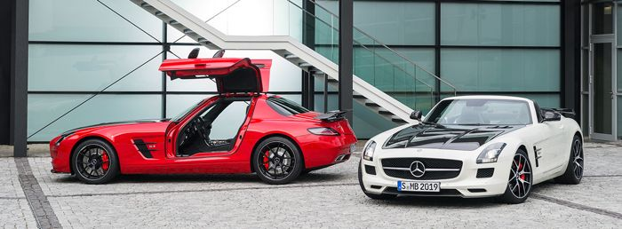 Mercedes Benz SLS AMG GT Final Edition