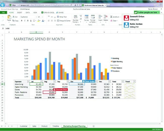 Microsoft Office 365 Real-Time Collaboration