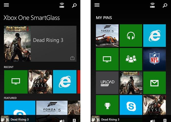 Microsoft Xbox One SmartGlass App
