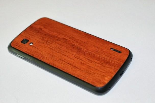 Nexus 4 Wood Back