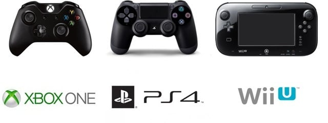 Xbox One vs PS4 vs Wii UXbox One Ps4 Wii U