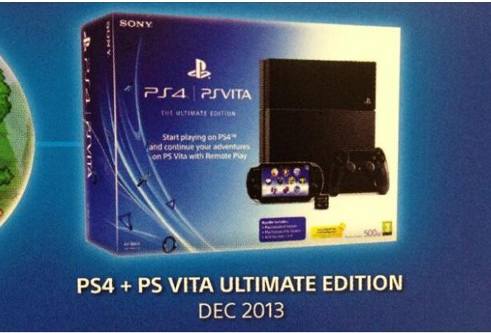 PS4 PS Vita Ultimate Bundle Promo