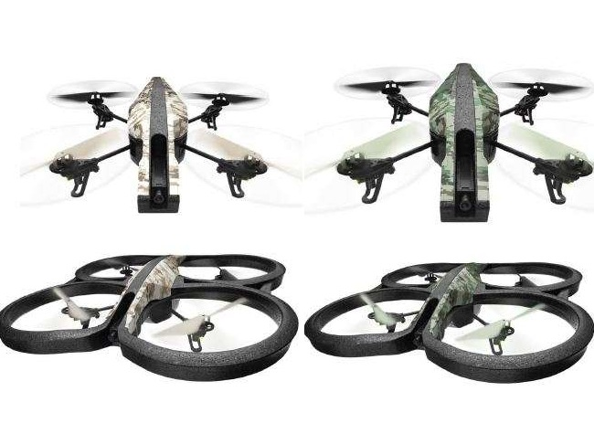 parrot ar drone 2 0 elite edition unveiled with new camo. Black Bedroom Furniture Sets. Home Design Ideas