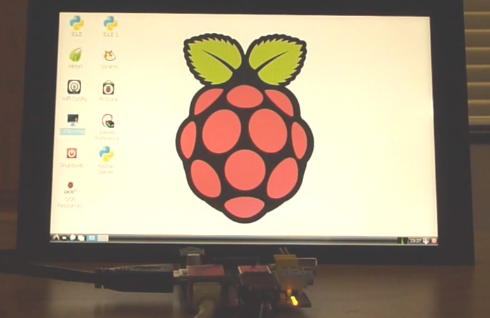 Raspberry Pi PiTouch HDMI Multitouch Monitor Unveiled (video)