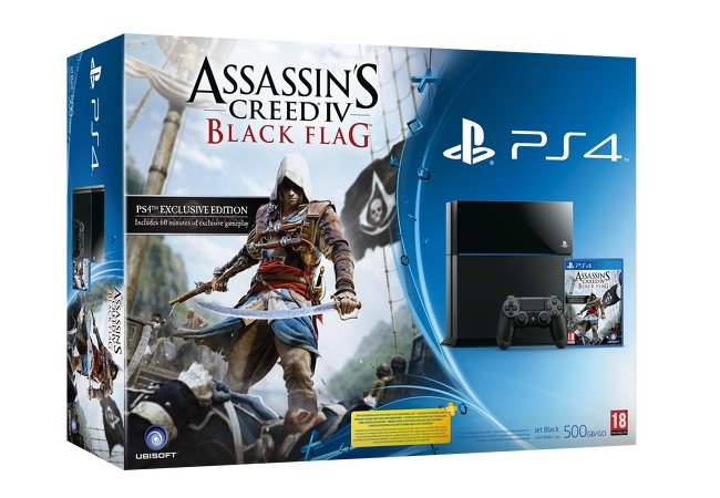 PlayStation 4 Assassins Creed 4 Bundle