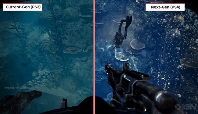 Call of Duty Ghosts Compared On PlayStation 4 vs PS3 And ...
