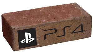 Playstation 4 bricked