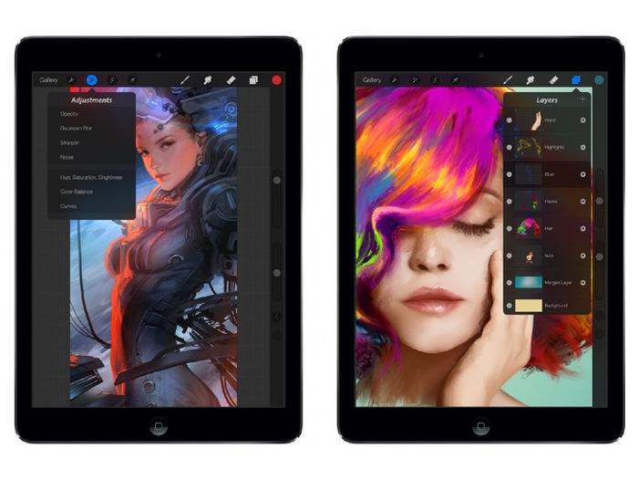 Procreate iPad Illustration App