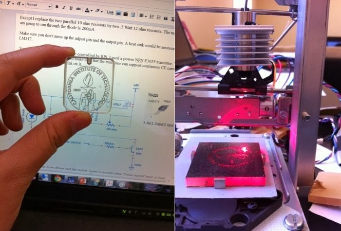 Raspberry Pi Lazer Engraver