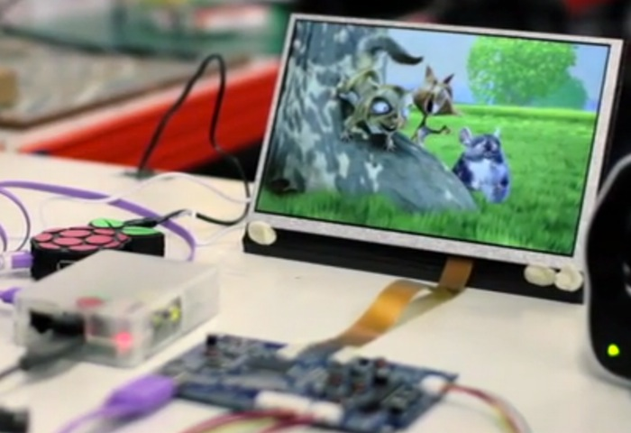 Raspberry Pi monitor