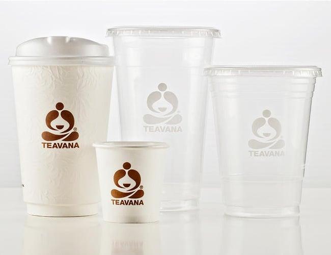 Starbuck paper tea cup