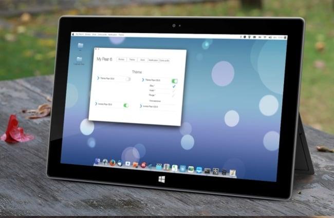 Tablet Edition Pear OS 8