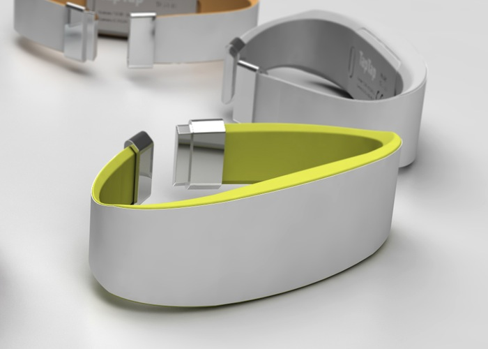 TapTap Touch Communication Wristband (video)