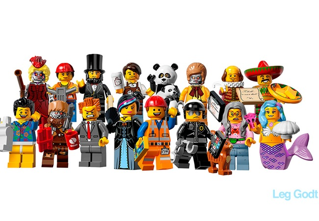 The Lego Movie Official Minifigs
