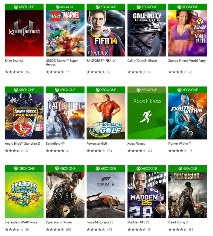 Newest Games 2013 Xbox One : Xbox one games store opens its doors