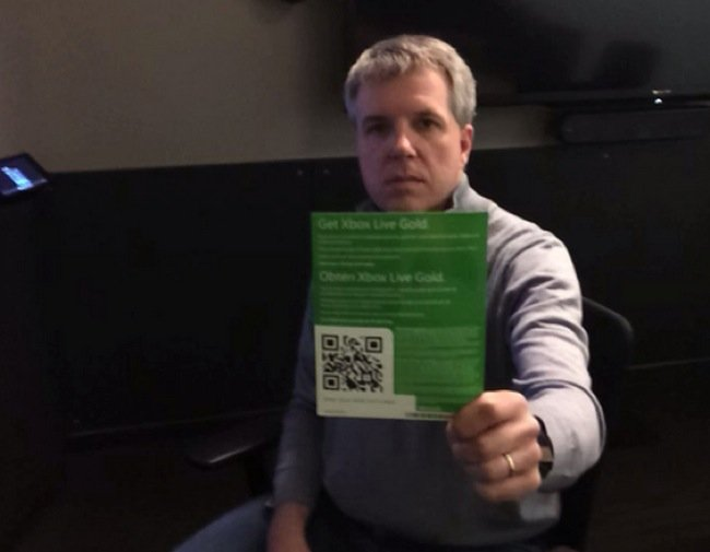 Xbox One QR Code Redemption