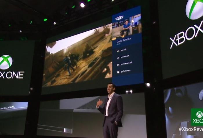Xbox One Skype