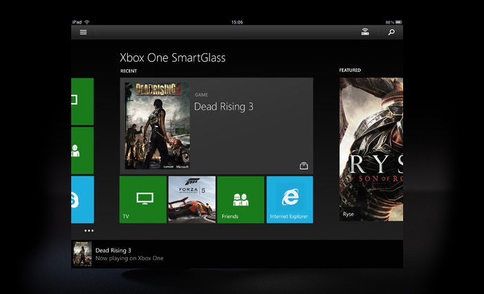 Xbox One Smartglass App