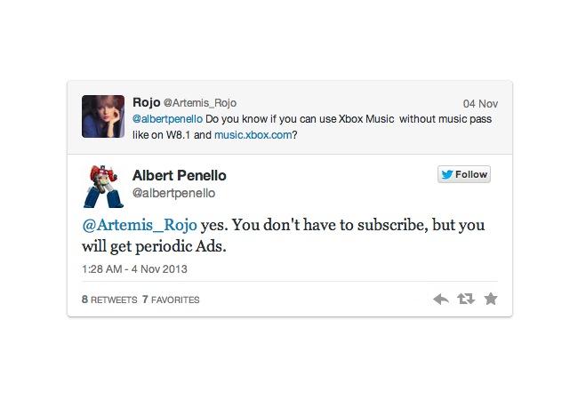 Xbox One Xbox Music
