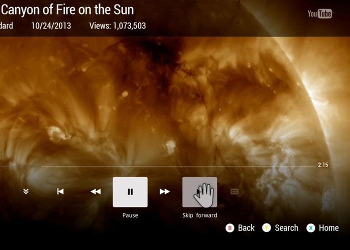 Xbox One YouTube App