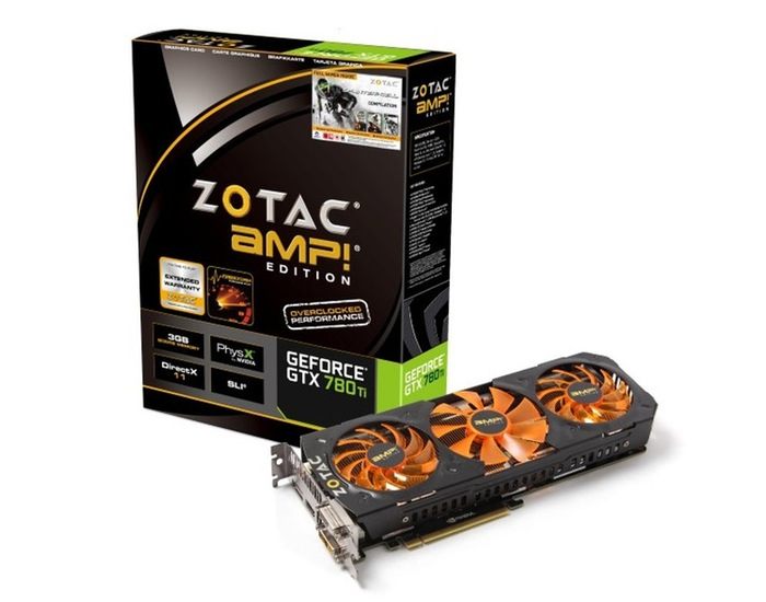 Zotac Geforce GTX 780 Ti AMP