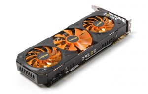 Zotac Geforce GTX 780 Ti AMP! Edition Unveiled