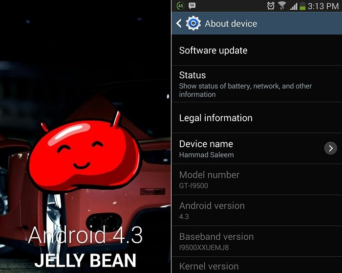 Samsung Galaxy S4 Users Experiencing Problems After Updating to Android 4.3