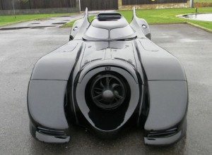 Road Legal Batmobile Up For Auction In The UK (Video)