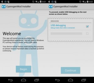 CyanogenMod Installer Lands On Google Play