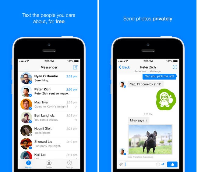 Redesigned Facebook Messenger Released For Android And Ios
