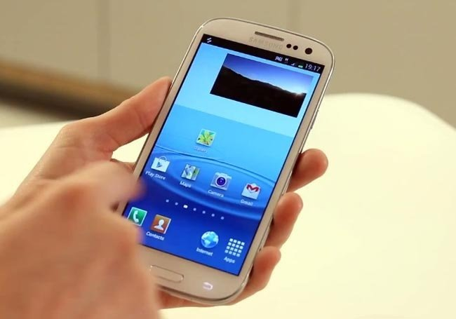how to put ypour samsung on priovate
