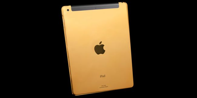 Gold iPad Air