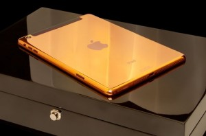 24CT Gold iPad Mini And iPad Air Announced