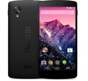 Google Nexus 5 Available From Major Canadian Carriers