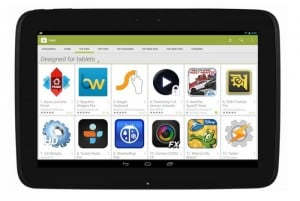 "Google Play Store ""Designed for Tablets"" Section Rolling Out"