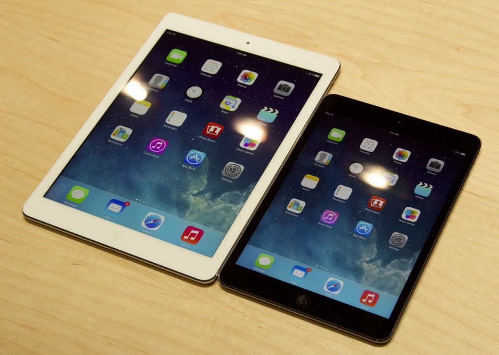 iPad Mini Retina Air comparison