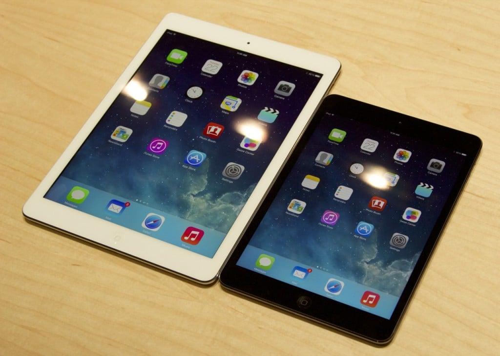 iPad Mini Retina Air comparison