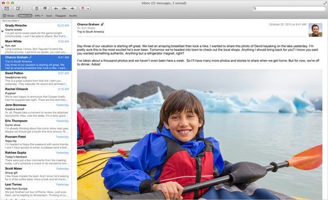 Mail App mac